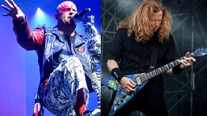 Megadeth: in tour in Europa a supporto dei Five Finger Death Punch