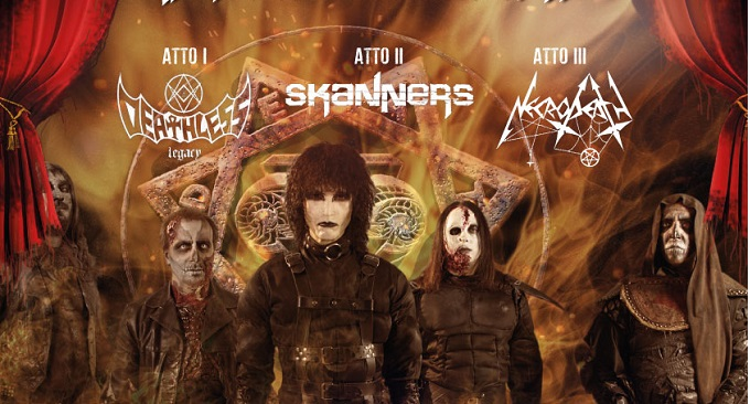 Death SS al Live Music Club di Trezzo s/Adda con Necrodeath, Skanners e Deatless Legacy