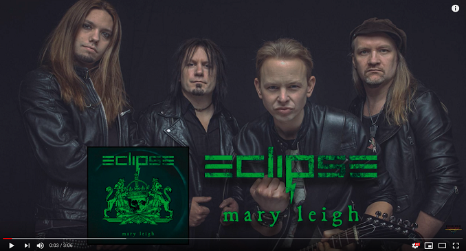 Eclipse - Disponibile il lyric video di 'May Leigh' dal nuovo album 'Paradigm' in uscita ad ottobre