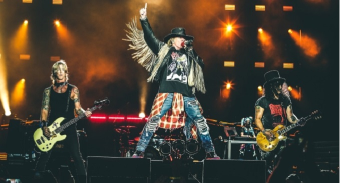 """Guns n'Roses - Annunciate la band di supporto che si alterneranno durante il """"Not In This Lifetime"""" tour in U.S.A."""