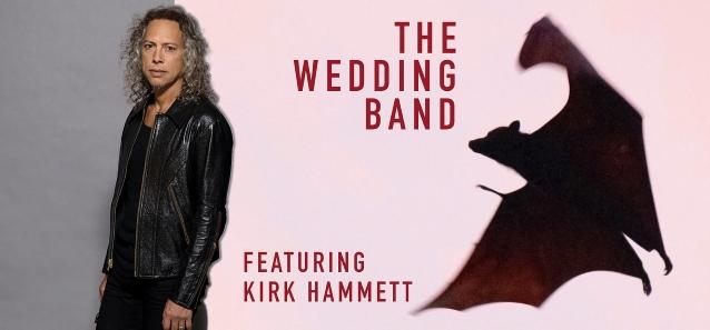"""Membri dei Metallica suonano nella cover band """"The Wedding Band"""""""