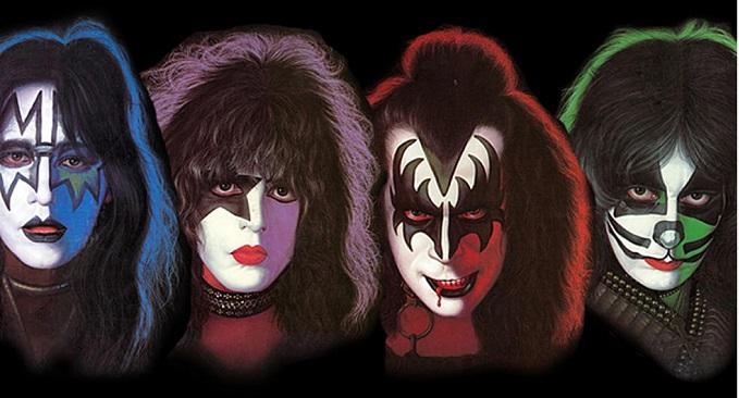 Kiss - Vengono pubblicati i quattro album solisti dei Kiss. E' il 18 settembre 1978!