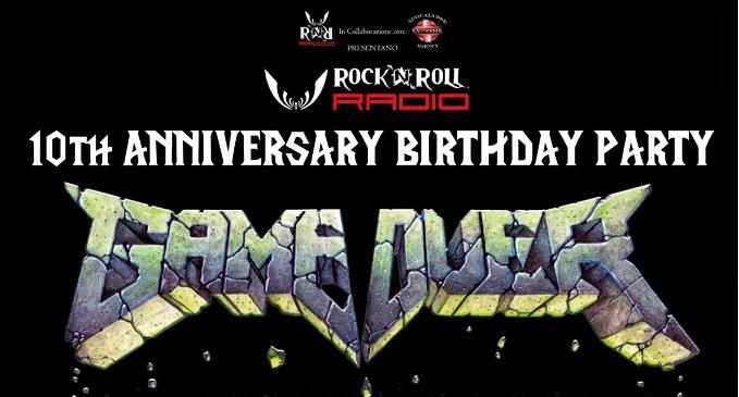 Rock'n'Roll Radio 10th Anniversary Birthday Party - Martedì 1 Ottobre al Rock'n'Roll di Milano