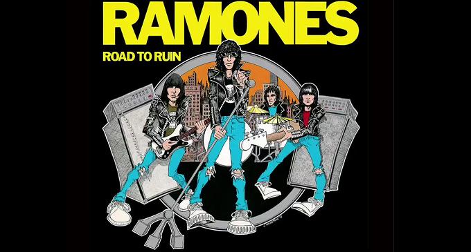 21 settembre 1978, viene pubblicato 'Road to Ruin', quarto album dei Ramones