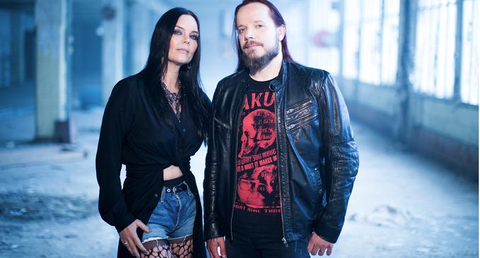 The Dark Element - Guarda il video di 'Songs The Night Sings della band di Anette Olzon e Jani Liimatainen
