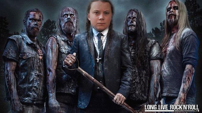 """Greta Thunberg ambasciatrice del Metal! """"Ho smesso con questa cosa dell'ambiente e farò solo death metal"""""""
