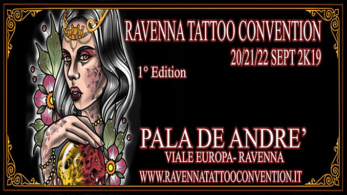 Questo fine settimana a Ravenna la Tattoo Convention, con show di Mortado e altri. Il programma completo