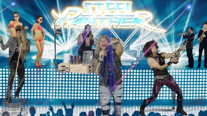 """Steel Panther, il nuovo video: """"F*ck Everybody"""" tratto dal prossimo Heavy Metal Rules"""