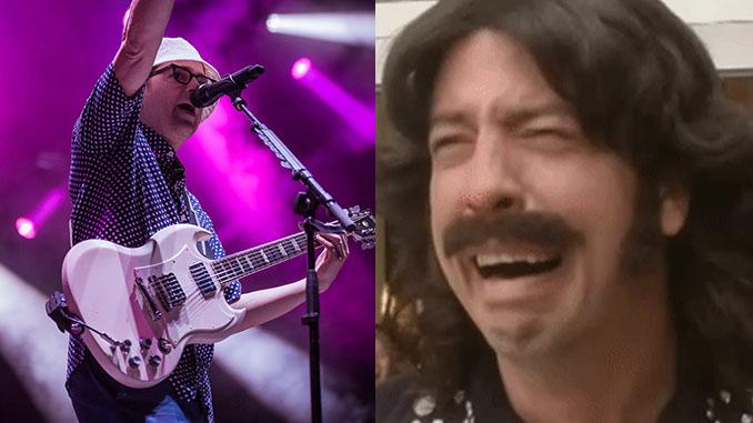 FOO FIGHTERS: Dave Grohl si commuove per la cover di Lithium dei Nirvana suonata dai Weezer