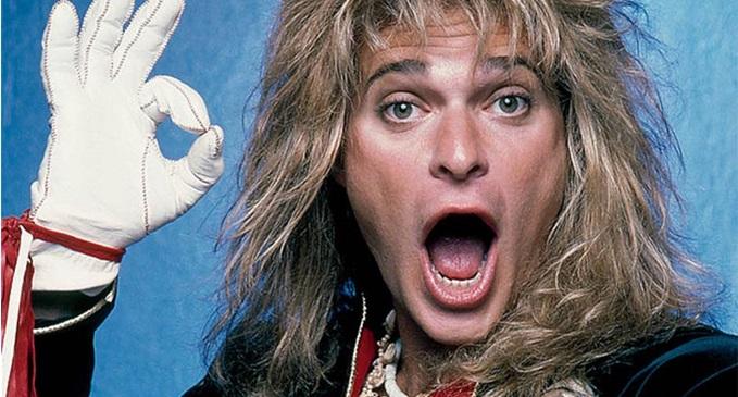 Auguri a David Lee Roth, ex cantante dei Van Halen, che oggi festeggia 65 anni
