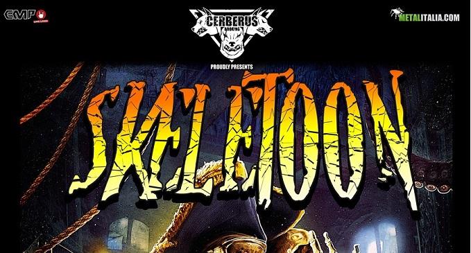 Skeletoon - In compagnia degli I Am Lethe venerdì 4 ottobre al Centrale Rock Pubdi Erba (CO)