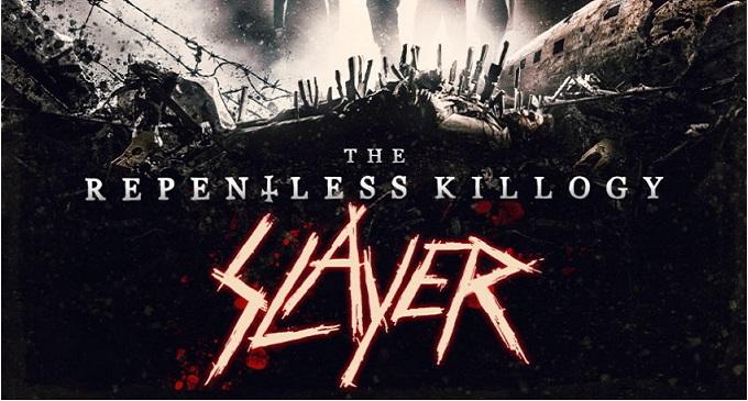 Slayer - Tom Araya e Kerry King parlano della storia dietro il breve film nato dalla trilogia dei video. 'Slayer: The Repentless Killogy'