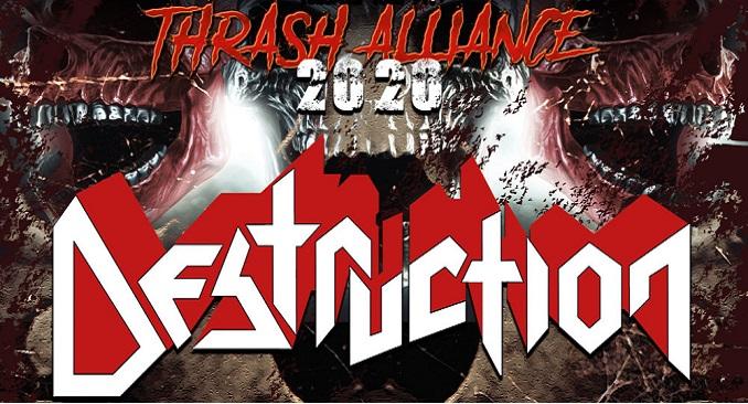 Destruction - Annunciato il 'Thrash Alliance Tour 2020'. Unica data in Italia a Milano a marzo