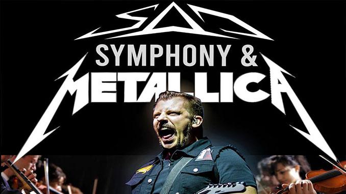 La tribute band italiana SAD replicherà lo show sinfonico dei Metallica con l'orchestra di Montecchio. Le prevendite
