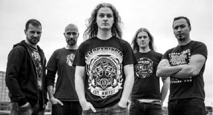 "Blood Eagle - Guarda il lyric video del brano 'Eyes Sewn Shut' dal terzo e ultimo EP""To Ride In Blood & Bathe In Greed"""