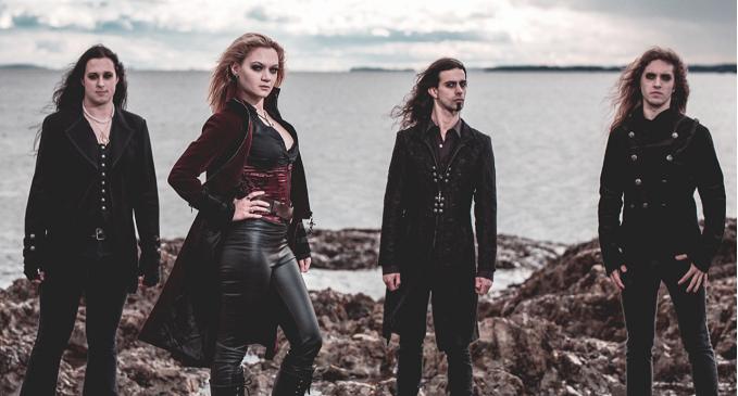 Seven Spires - Guarda il nuovo video 'Succumb' dal prossimo album, 'Emerald Seas', in uscita a Febbraio vis Frontiers Music