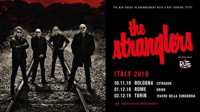 Stranglers, l'imminente tour italiano includerà 3 date