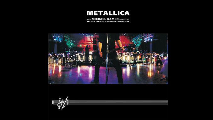 METALLICA: 20 anni fa usciva il loro disco con l'orchestra sinfonica S&M