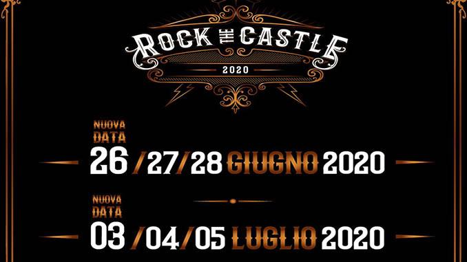 ROCK THE CASTLE 2020: aggiunte altre due giornate! Durerà in totale 6 giorni