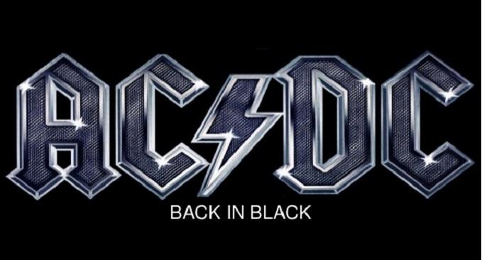 AC/DC - L'album 'Back in Black' certificato disco di platino per la venticinquesima volta negli States!!!