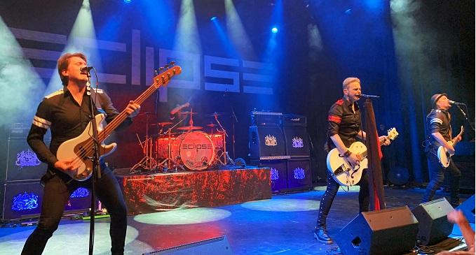 Eclipse - Live from Göteborg, impossibile non emozionarsi. Trädgår'n, 21 dicembre 2019