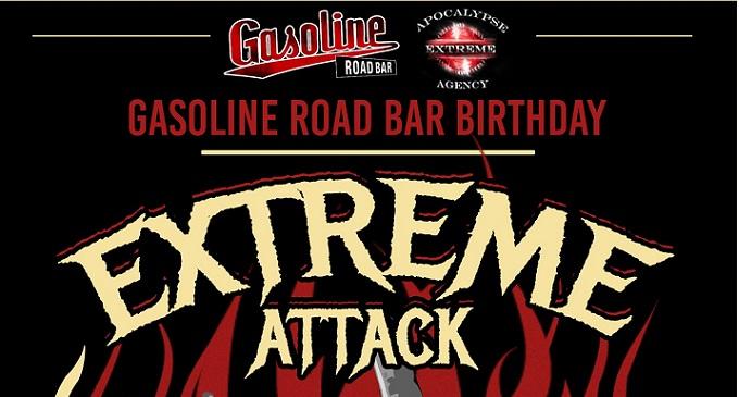 Extreme Attack Night - Il 23 dicembre con Karmian e Browbeat al Gasoline Road Bar in provincia di Reggio Emilia
