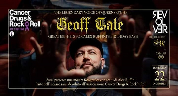 Geoff Tate's Greatest Hits For Alex Ruffini's Birthday Bash