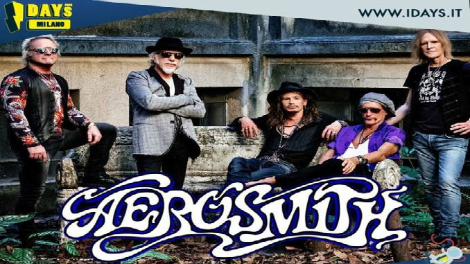 AEROSMITH: in concerto a Milano agli I-Days 2020!