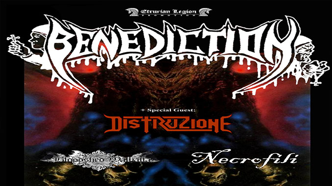 Benediction, Distruzione, Bloodshed Walhalla, Necrofili @ Traffic Live, Roma - 20 dicembre 2019