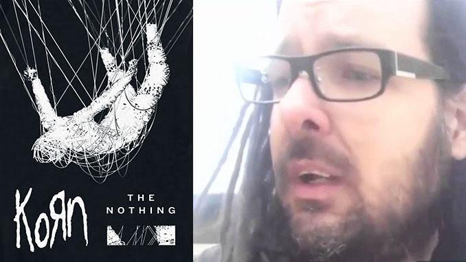 """KORN, JONATHAN DAVIS: """"Ogni volta che ascolto """"The Nothing"""", scoppio a piangere"""