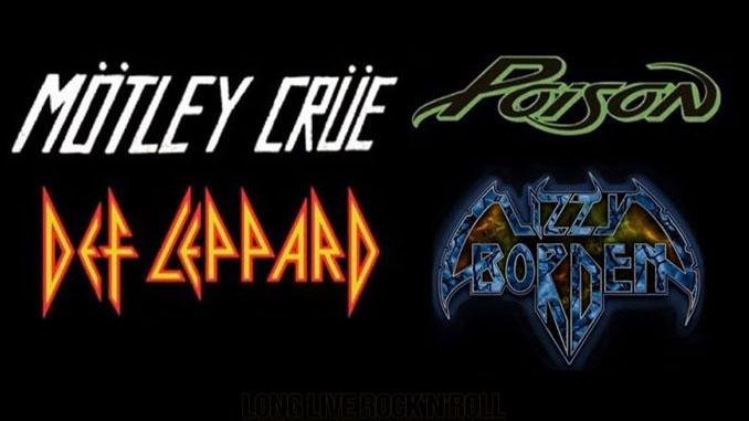MÖTLEY CRÜE: Lizzy Borden quarta band per il tour della reunion con DEF LEPPARD e POISON