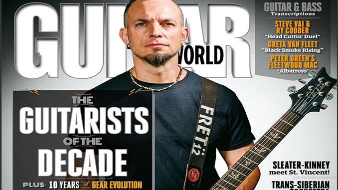 """MARK TREMONTI (Alter Bridge, Creed): nominato """"Chitarrista del decennio"""" dai lettori di Guitar World"""