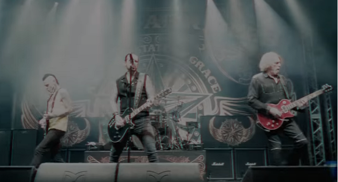 BLACK STAR RIDERS: Guarda il nuovo video 'In The Shadow Of A War Machine'