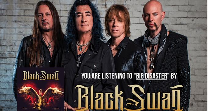 BLACK SWAN: On line l'official audio di 'Big Disaster' del super gruppo con McAuley, Pilson, Beach, Starr