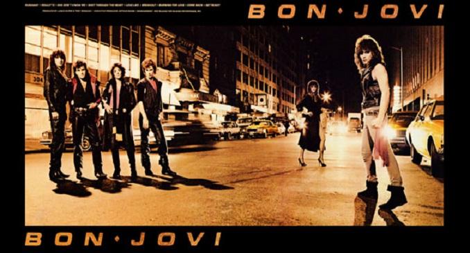 BON JOVI: ll 21 gennaio 1984 veniva pubblicato l'album di debutto della band