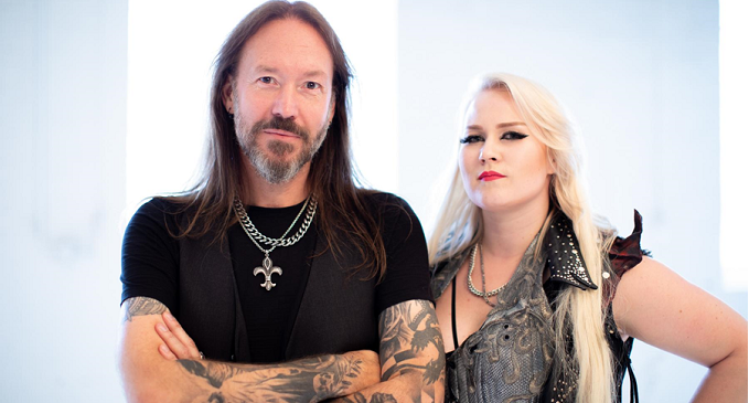 Hammerfall - Guarda il video di 'Second to One' con Noora Louhimo dei Battle Beast
