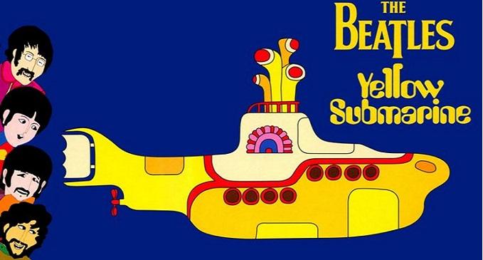 THE BEATLES: Il 13 gennaio del 1969 esce l'album 'Yellow Submarine'