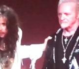 AEROSMITH: il discorso di Steven Tyler assieme ad un triste Joey Kramer. Pace fatta?